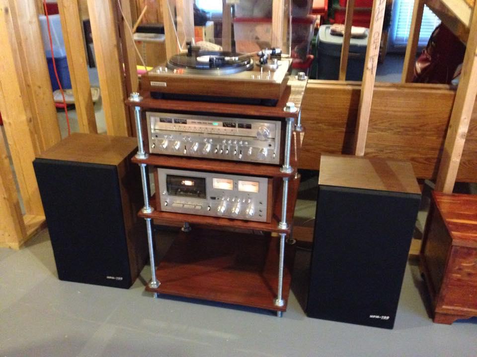stereo equipment shelf 1